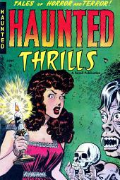 Haunted Thrills, Number 1, A Coffin Waits