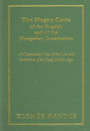 The Magna Carta of the English and of the Hungarian Constitution