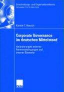 Corporate Governance im deutschen Mittelstand PDF