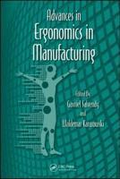 Advances in Ergonomics in Manufacturing PDF