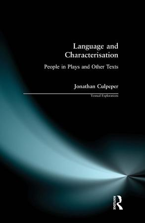Language and Characterisation PDF