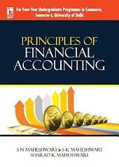 Principles of Financial Accounting (University of Delhi)