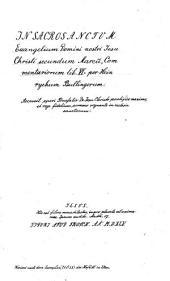 IN SACROSANCTUM Euangelium Domini nostri Jesu Christi secundum Marcu[m], Commentariorum lib. VI.