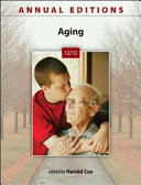 Annual Editions  Aging 12 13 PDF