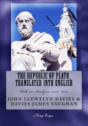 The Republic of Plato  Translated Into English PDF