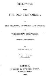 Selections from the Old Testament[...]