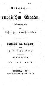 Geschichte von England. v.1-10; Register