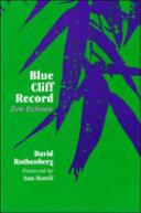 Blue Cliff Record