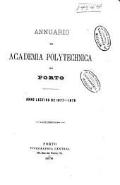 Annuario da Academia polytechnica do Porto: Volumes 1-2