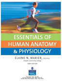 Essentials of Human Anatomy   Physiology Book
