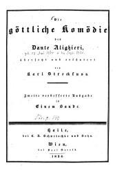 Die göttliche Komödie des Dante Alighieri