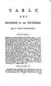 Introduction à l'histoire des troubles des Provinces-Unies depuis 1777 jusqu'en 1787: contenant un précis de l'origine des dissentions de la république, une notice de sa constitution, un détail des droits & prérogatives du stathouder, avec une idée du caractère & de la politique des principaux personnages, qui ont joué un rôle ou qui ont eu quelque influence dans les affaires de l'administration
