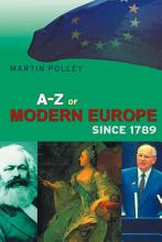 An A Z of Modern Europe Since 1789 PDF