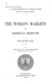 The World's Markets for American Products: Norway
