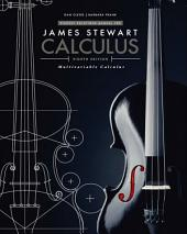 Student Solutions Manual, Chapters 10-17 for Stewart's Multivariable Calculus, 8th: Edition 8