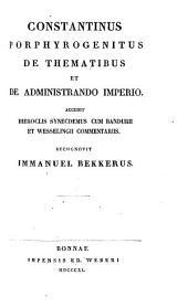 De ceremoniis aulae Byzantinae libri duo: Volume 3