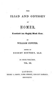The Iliad and Odyssey of Homer: Volume 3