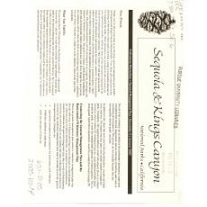 Sequoia   Kings Canyon PDF