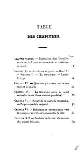 La Monarchie de 1830