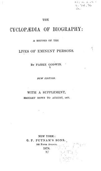 The Cyclop  dia of Biography PDF