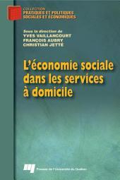 L'économie Sociale Dans les Services à Domicile