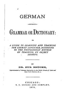 German Without Grammar Or Dictionary     PDF