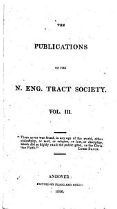 Publications of the American Tract Society: Volume 3