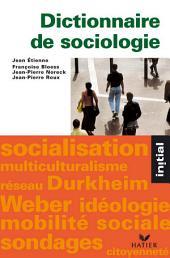 Initial - Dictionnaire de sociologie