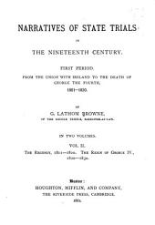 Narratives of State trials in the nineteenth century: Volume 2