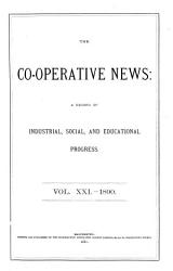 Co Operative News And Journal Of Associated Industry Book PDF