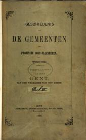 Geschiedenis van de Gemeenten der Provincie Oost=Vlaanderen.