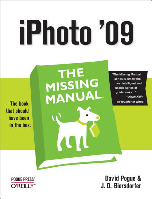 iPhoto  09  The Missing Manual PDF