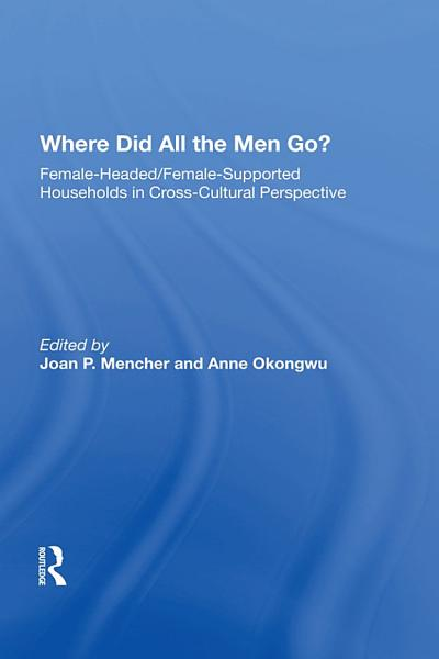 Download Where Did All The Men Go  Book