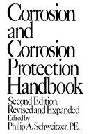 Corrosion and Corrosion Protection Handbook