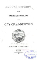 Annual Report of the Various City Officers     PDF