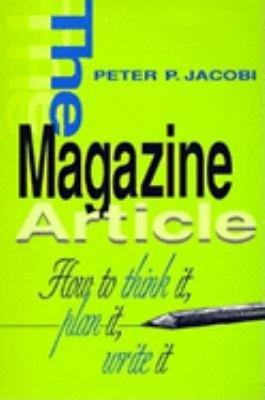The Magazine Article