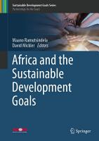 Africa and the Sustainable Development Goals PDF