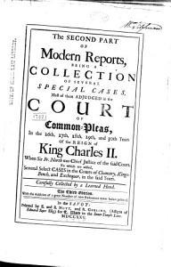 Modern Reports PDF