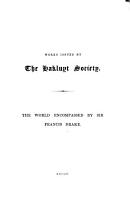 The World Encompassed by Francis Drake PDF