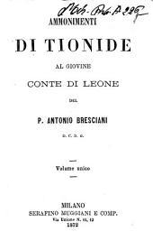 Ammonimenti di Tionide al giovine conte di Leone