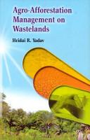 Agro afforestation Management on Wastelands PDF