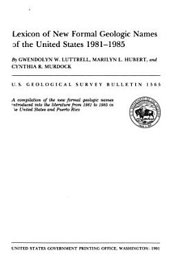 Geological Survey Bulletin PDF