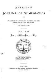 American Journal of Numismatics: Volumes 21-22
