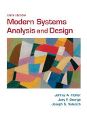 Modern Systems Analysis and Design PDF