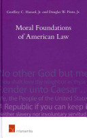 Moral Foundations of American Law
