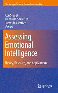 Assessing Emotional Intelligence Book