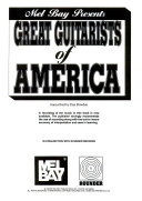 Mel Bay Presents Great Guitarists of America PDF