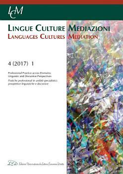 LCM Journal   Vol 4  2017  No 1  Professional Practice across Domains  Linguistic and Discursive Perspectives PDF