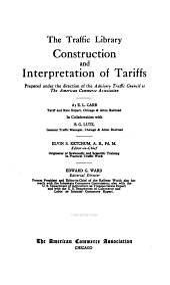Construction and interpretation of tariffs