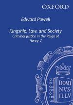 Kingship, Law, and Society